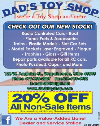 Check Out Our New Stock!