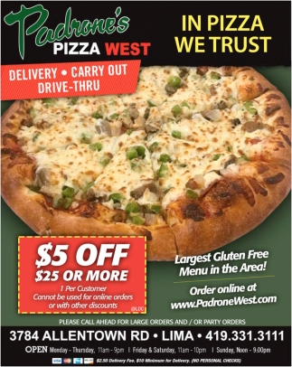 In Pizza We Trust