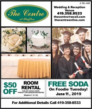 50 Dollars Off Room Rental