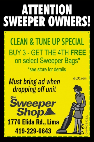 Attention Sweeper Owners!
