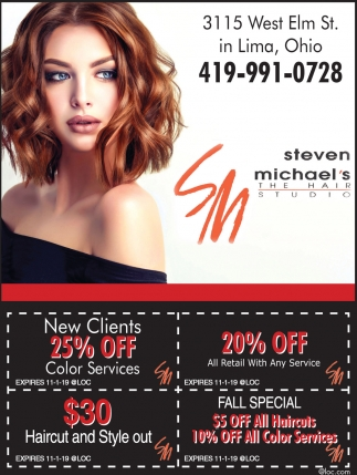 20% Off All Retail With Any Service