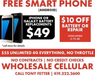 Free Smart Phone