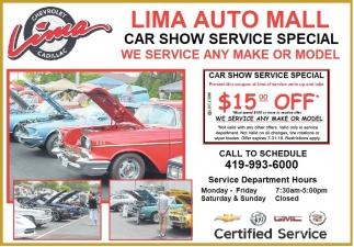 Car Show Service Special