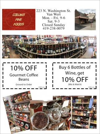 10% Off Gourmet Coffee Beans
