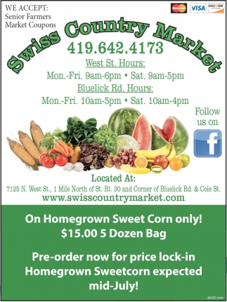 Pre-Order Now For Price Lock-In Homegrown Sweetcorn